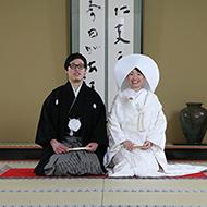 仏前結婚式の撮影